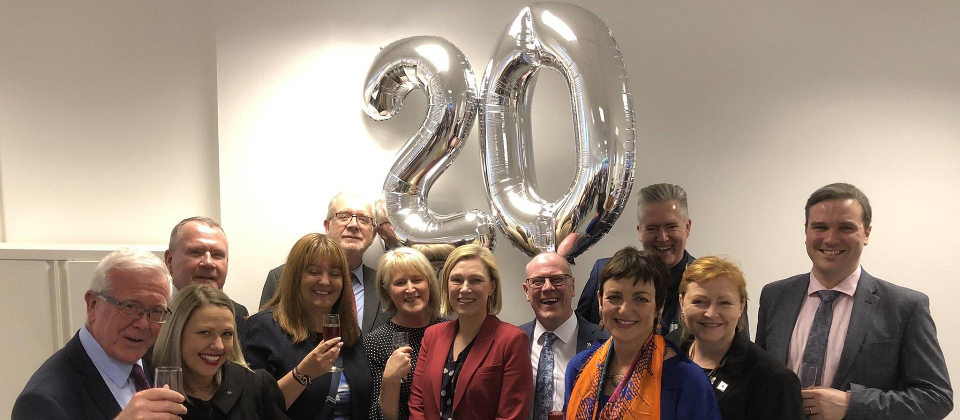 Celebrating 20 years since Scottish Parliament reconvened